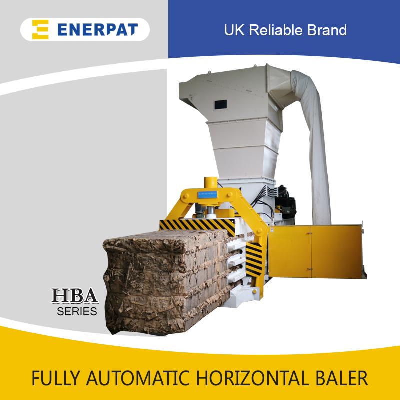 全自动废纸板打包机(HBA100-110110)-1000KGS