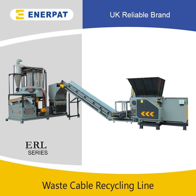 废旧电线电缆回收生产线