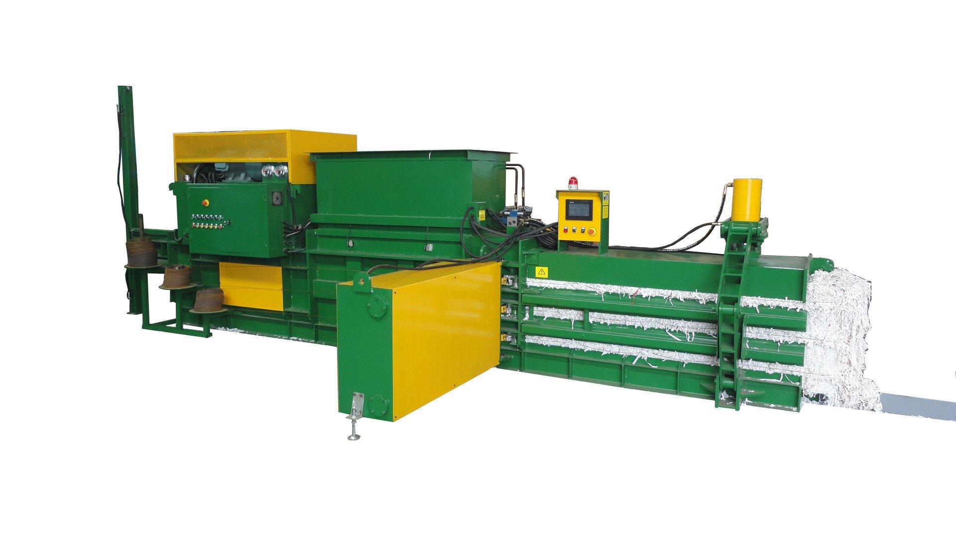 全自动废纸屑打包机(HBA40-7272)-350KGS